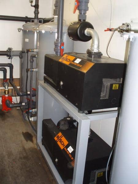 Remediation technology: Dual Phase Extraction (DPE)