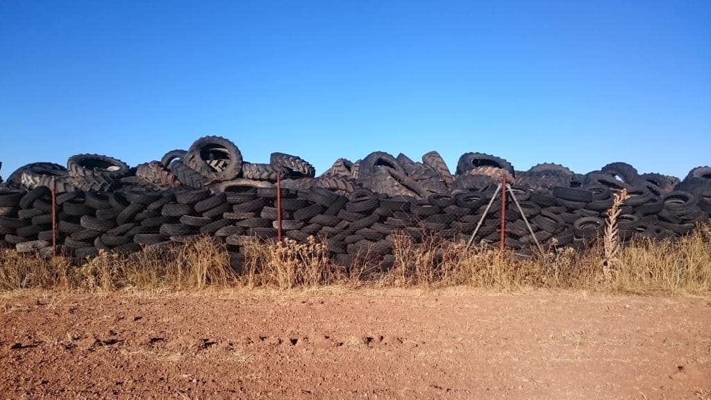 Emgrisa collaborates in the writing of a guide on the management of stockpiles of used tyres