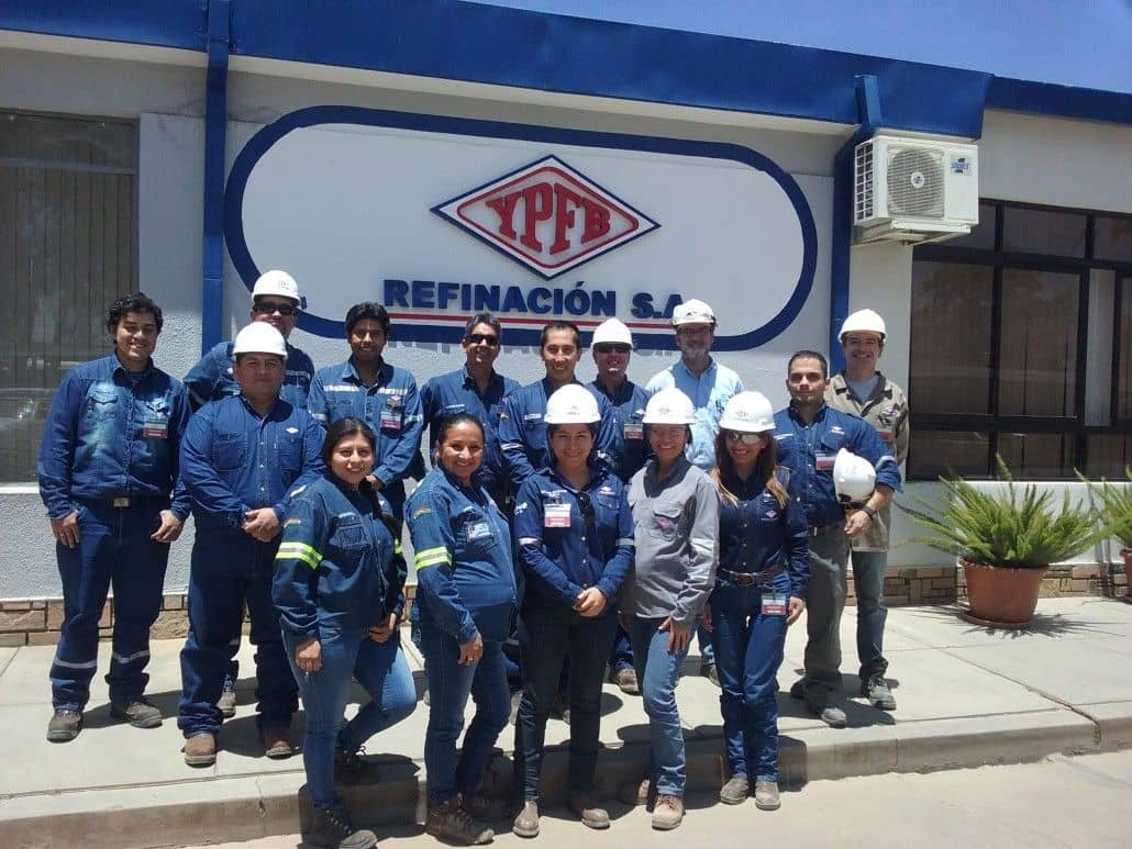 Environmental training for YPFB