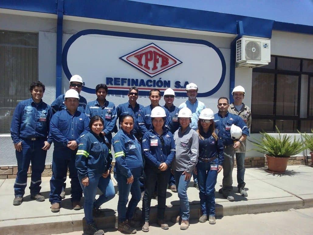 Environmental training for YPFB