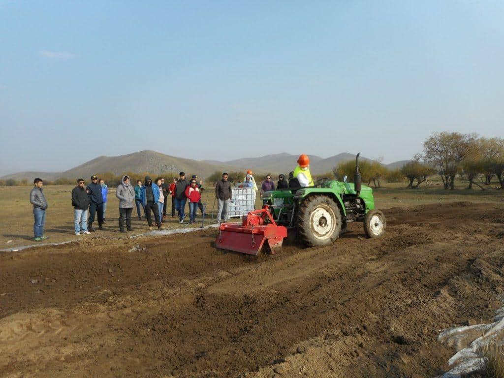 training workshop in Mongolia