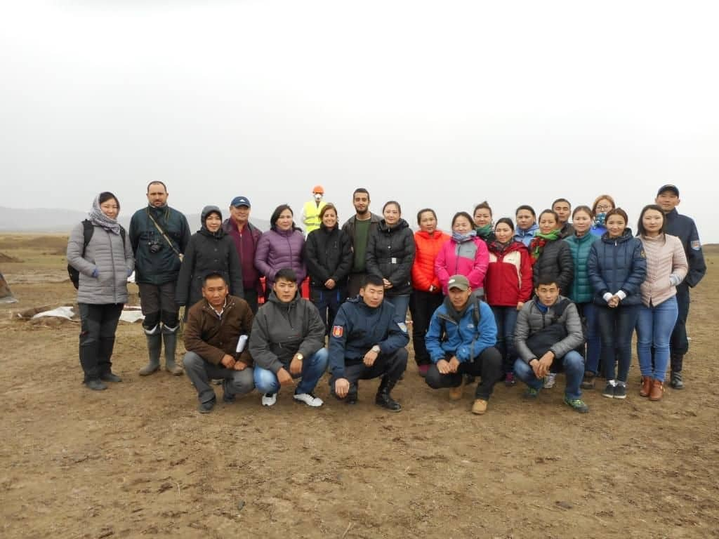 training workshop in Mongolia