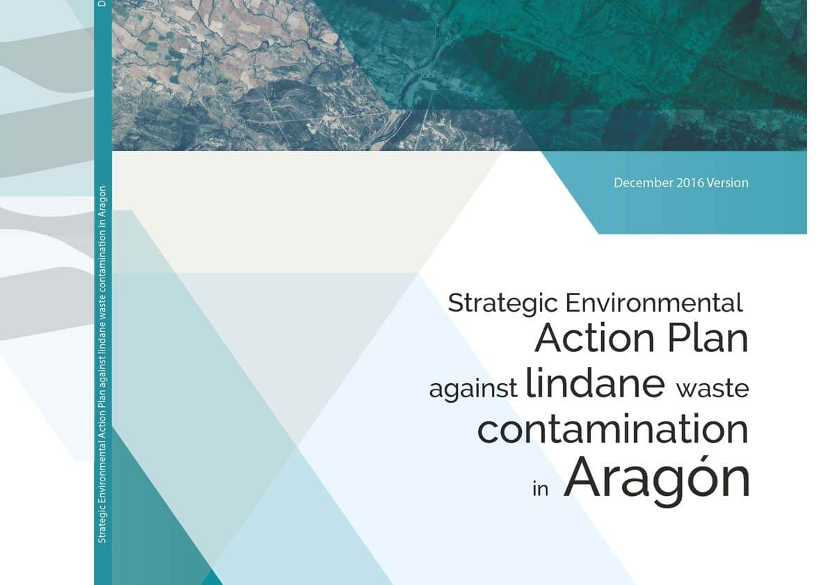 Emgrisa collaborates with the Government of Aragón in the drafting of the Strategic Environmental Action Plan against Lindane waste contamination