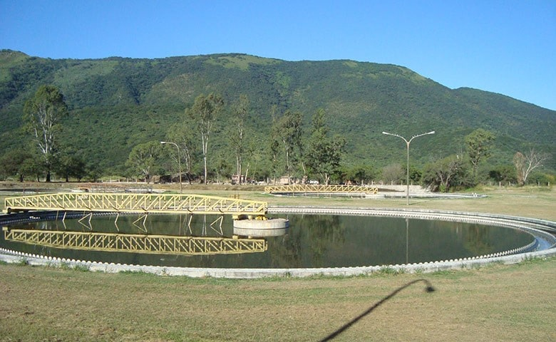 Wastewater treatment plant in Salta