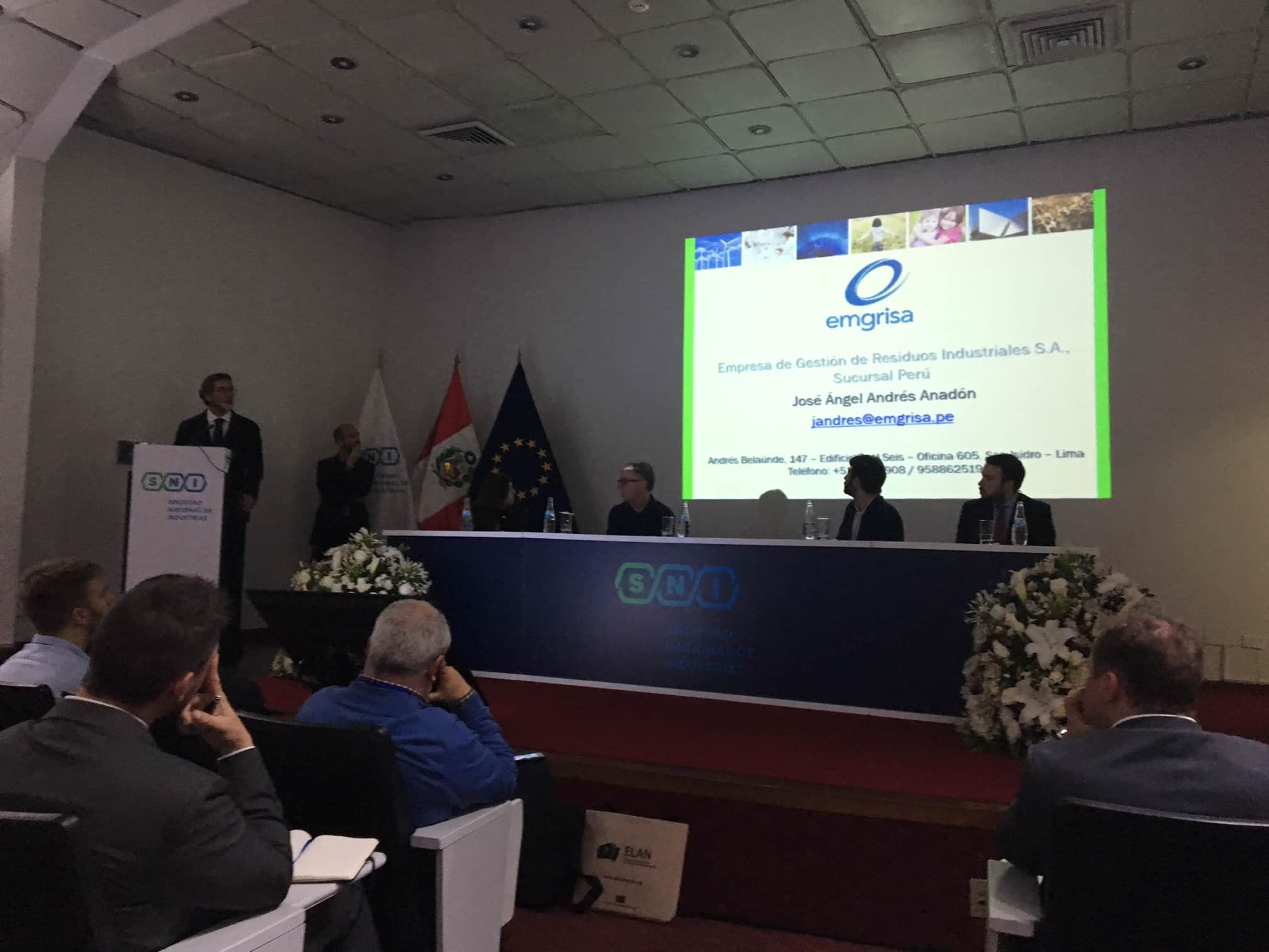 Peru Office of Emgrisa participates in the ELAN Network on technological solutions