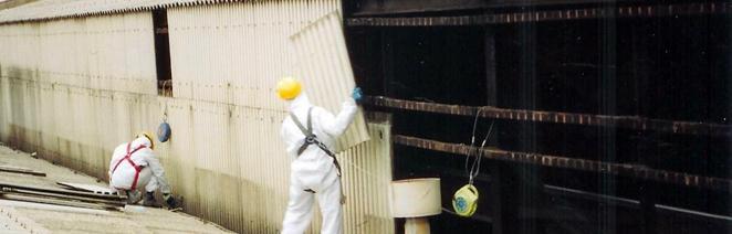 trabajos con amianto