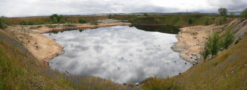 environmental restoration of a contaminated lagoon in Arganda del Rey