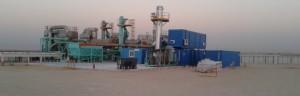 Descontaminación mediante desorción térmica en Kuwait