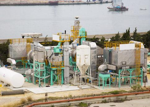 Thermal Desorption Unit property of Emgrisa