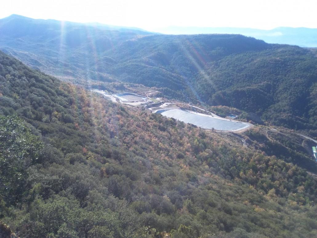 Estudio de derivación del barranco de Bailín para evitar contaminación por lindano en el río Gállego