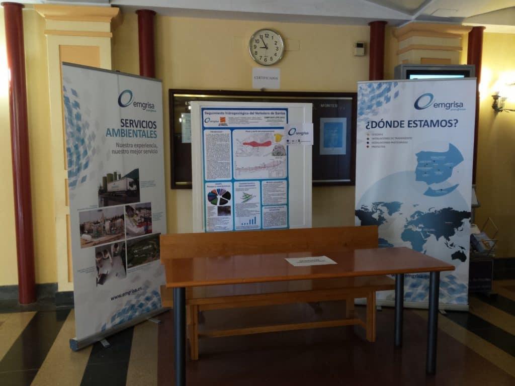 recuperación de suelos contaminados stand