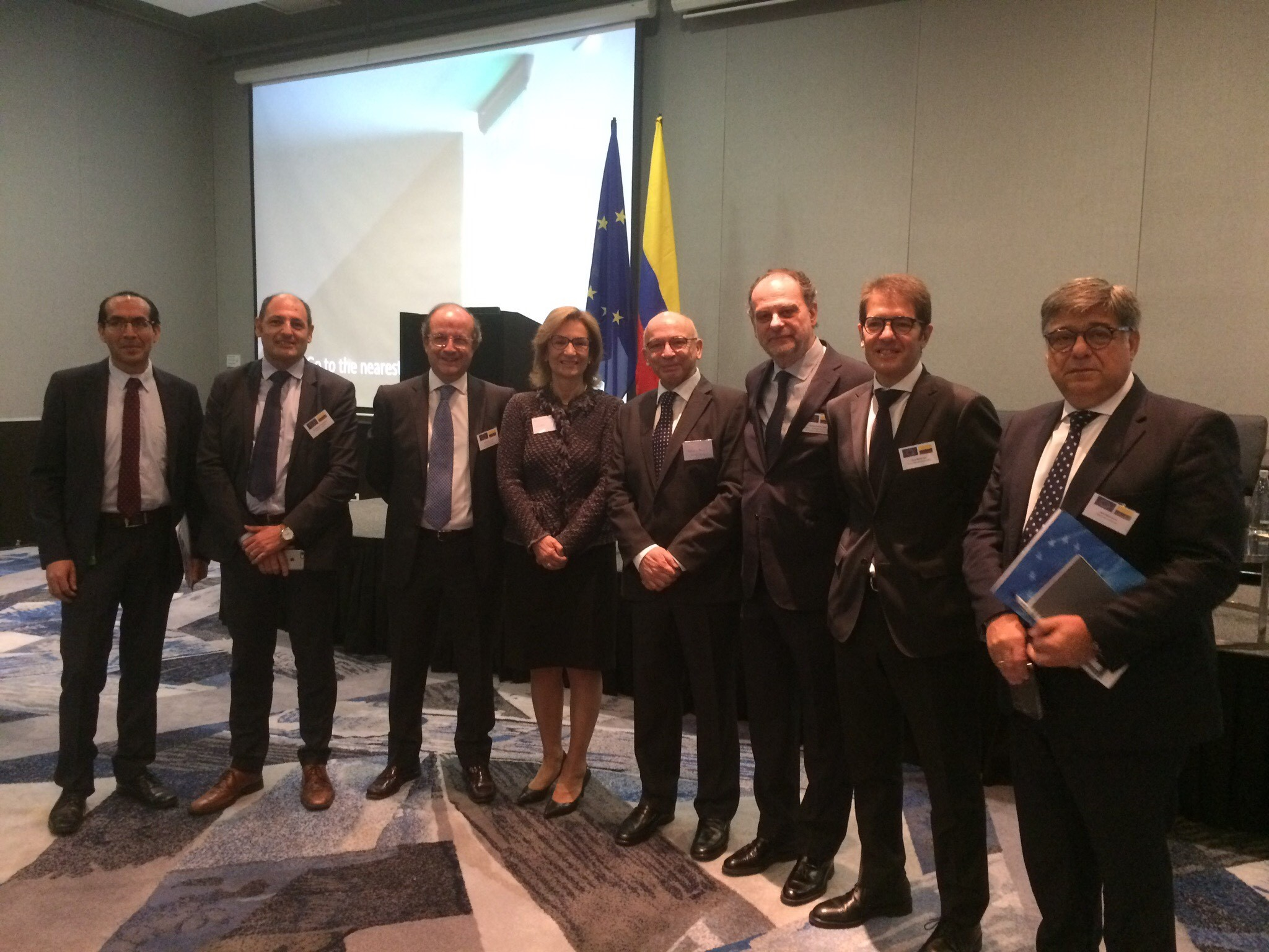 Emgrisa participó junto a 40 empresas de la UE en la Misión de Economía Circular en Colombia