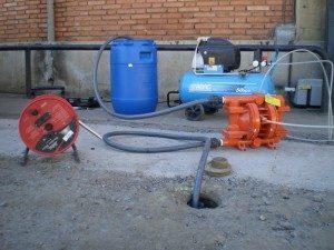 bombeo y tratamiento pumptreat