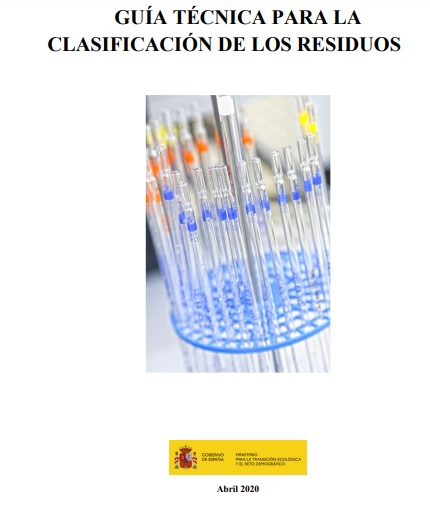 Guía técnica para la clasificación de residuos
