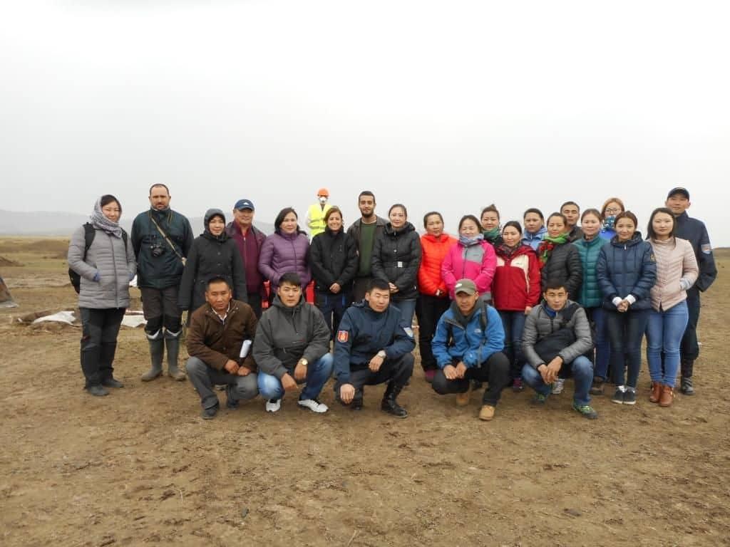 II capacitación en Mongolia