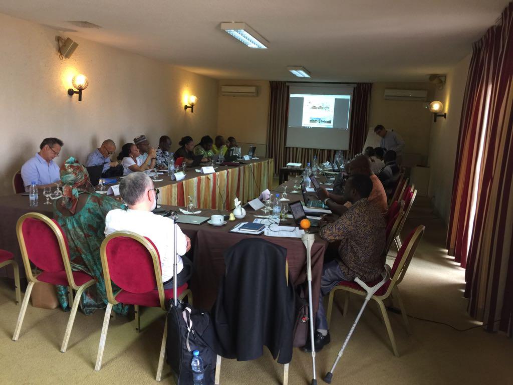 taller sobre mercurio Dakar