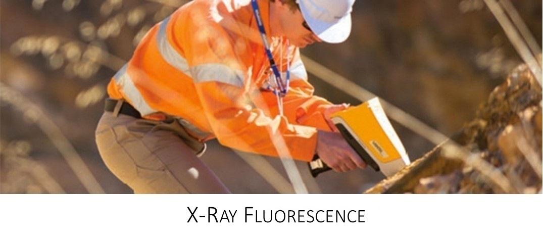 Detección y medición rápida de elementos usando XRF portátil para evaluaciones ambientales o de estabilidad química