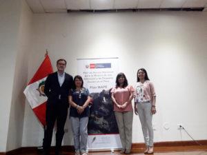 Trabajadores de Emgrisa Perú tras el Proyecto MAPE