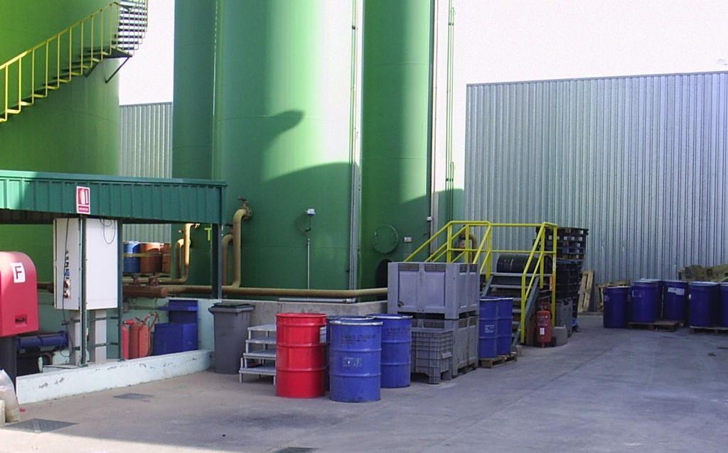 fin de la condición de residuo aceites y fuel