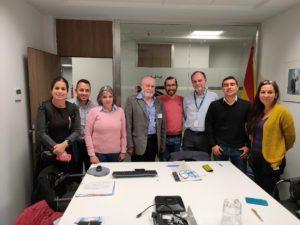 Visita a Emgrisa para conocer actuaciones de economía circular