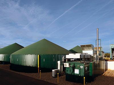 Biogas plant in Juzbado (Salamanca)