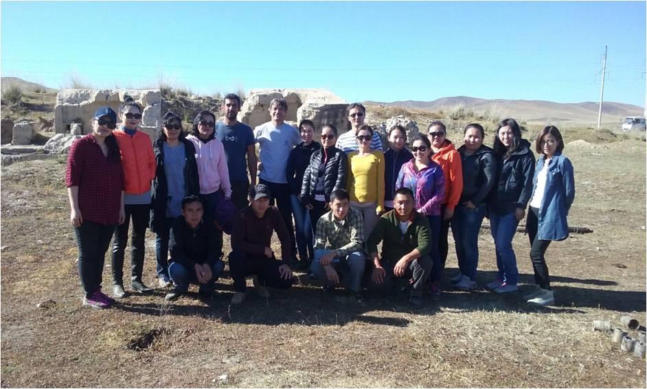 Técnico proyecto de Mongolia