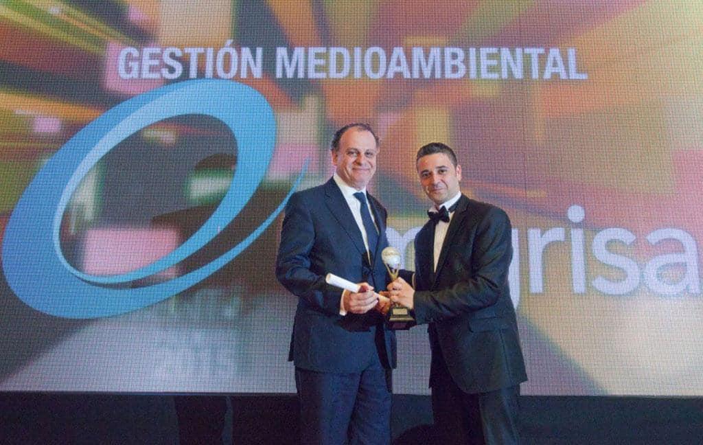 premio El Suplemento 2015 en Gestión medioambiental