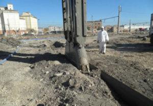 proyecto de un tratamiento de suelos contaminados de Engrisa